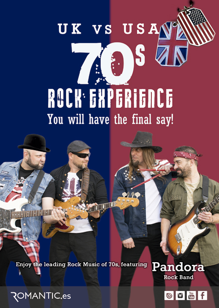 70s ROCK EXPERIENCE BY PANDORA