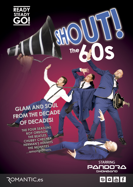 SHOUT ! THE 60S BY PANDORA