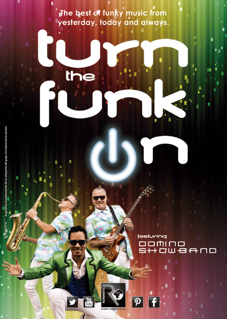 TURN THE FUNK ON FEATURING DOMINO SHOW BAND